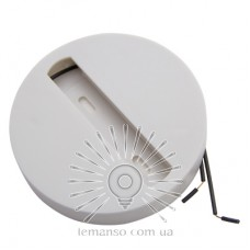 Track area 2 WAY Lemanso overhead ABS circle white / LM3228