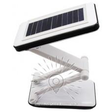 Базука Lemanso 5W 192LM 230V чёрная + солнечная батарея / LMB21