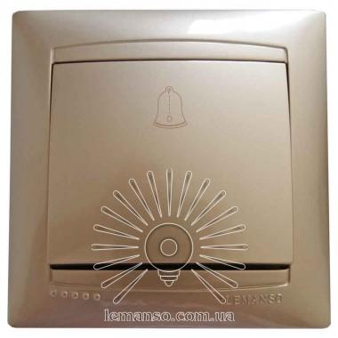 Кнопка звонка LEMANSO Сакура золото LMR1210 описание, отзывы, характеристики