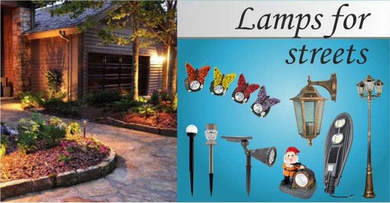 Lamps for streets