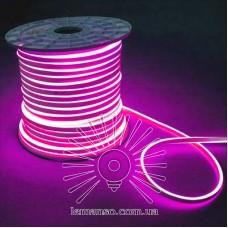 Неон LEMANSO 240град. 120LED 6W/м IP65 рожевий 2835SMD 220V 2160LM / LM858