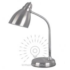 Настольная лампа Lemanso 60W E27 LMN100 серебро