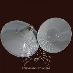 Лампа Lemanso LED IP65 + метал. отражатель 50W E27 4000LM 6500K белый/ LM712