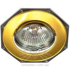 Спот Lemanso DL83 золото - хром MR16 /305