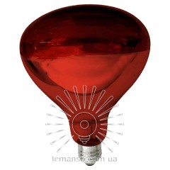 Лампа инфракрасная Lemanso 250W E27 230V полностью красная / LM3012 гарант. 6мес