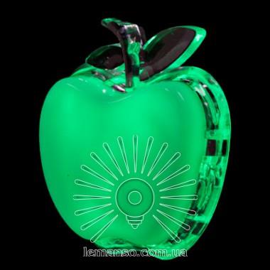 Ночник Lemanso Яблоко зелёный 3 LED / NL3 описание, отзывы, характеристики