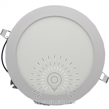 LED панель Lemanso 12W 800LM 85-265V 4500K круг / LM1043 Комфорт описание, отзывы, характеристики
