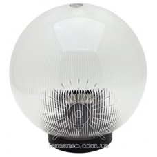 Шар диаметр 200 прозрачный призматический Lemanso PL2116 макс. 40W  + база с E27