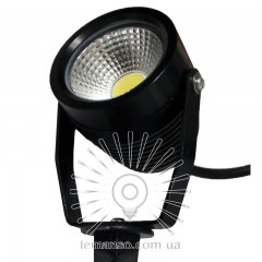 Светильник LED садовый Lemanso 1LED 9W 6500K чёрный / LM982