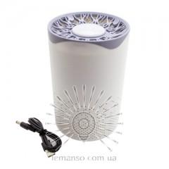 Светильник от комаров 5W 110-240V USB+адаптер ABS Lemanso LM3402 белый