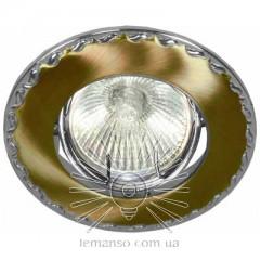 Спот Lemanso DL82 золото - хром mr16 /125