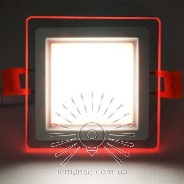 LED панель Сяйво Lemanso 9W 720Lm 4500K + красный 85-265V / LM1039 ква описание, отзывы, характеристики