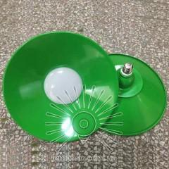 Лампа Lemanso LED IP65 + метал. отражатель 50W E27 4000LM 6500K зелёный/ LM712