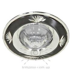 Спот Lemanso DL2011 черный металлик-серебро