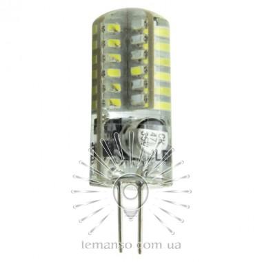 Лампа Lemanso св-ая G4 48LED 2,5W 200LM 6500K 3014SMD AC/DC12V силикон / LM350 описание, отзывы, характеристики