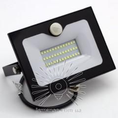 Прожектор LED 50w 6500K 3000LM LEMANSO со встроенным датчиком / LMPS56