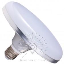 Лампа Lemanso LED НЛО 36W E27 2160LM серебро 85-265V / LM729