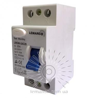 Диф.реле Lemanso 2п 63A 30mA RCCB LRC60 описание, отзывы, характеристики