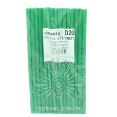 Cores glue 15pcs pack (price per pack) Lemanso 7x200mm green LTL14021
