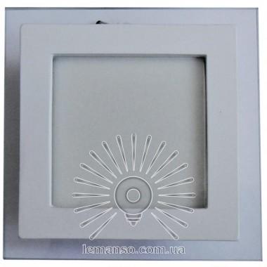 LED панель Lemanso 25W 1750LM 4500K квадрат/ LM438 + стекло описание, отзывы, характеристики
