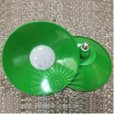 Лампа Lemanso LED IP65 + отраж. 36W E27 2880LM 6500K зелёный/ LM711