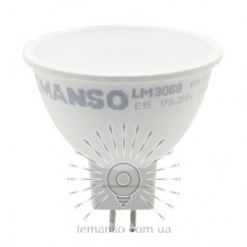 Лампа Lemanso св-ая MR16 4W 370LM 6500K 175-265V матовая / LM3069