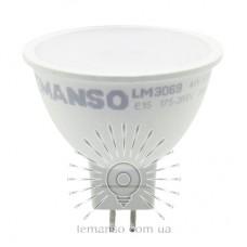 Лампа Lemanso світлодіодна MR16 4W 370LM 6500K 175-265V матова / LM3069