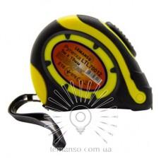 Рулетка LEMANSO 5м x 19мм LTL70012 жёлто-чёрная