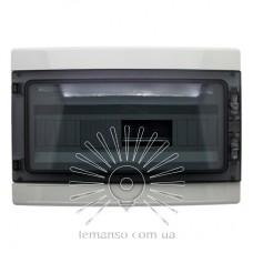 Коробка IP65, под 18 автоматов LEMANSO накладная, пластик / LMA7410