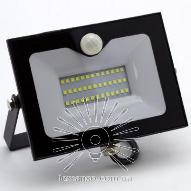 Прожектор LED 30w 6500K 2400LM LEMANSO со встроенным датчиком / LMPS35 описание, отзывы, характеристики