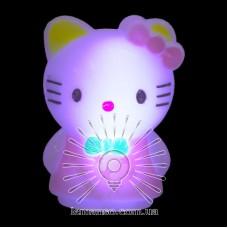 Ночник Lemanso Кошечка розовый / NL9