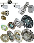 Светильники точечные в Интернет магазине электротоваров:  Форма - Овал