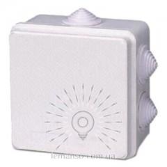 Расп. коробки LEMANSO 85*85*50 квадрат / LMA205 с резиновыми заглушками
