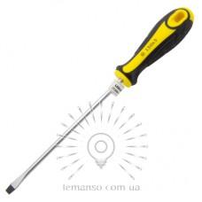 Отвертка плоская LEMANSO 5x150 LTL30006 желто-чёрная