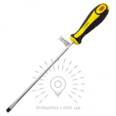 Отвертка плоская LEMANSO 6x200 LTL30010 желто-чёрная