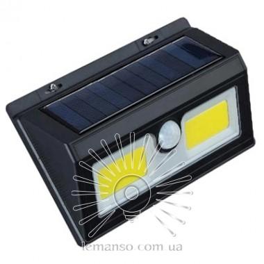 Подсветка для стены COB Lemanso 5W 180LM IP65 6500K с д/движения и солн. батареей / LM33005 с аккум описание, отзывы, характеристики