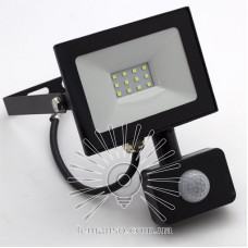 Прожектор LED 10w 6500K 800LM LEMANSO 175-265V с датчиком / LMPS17