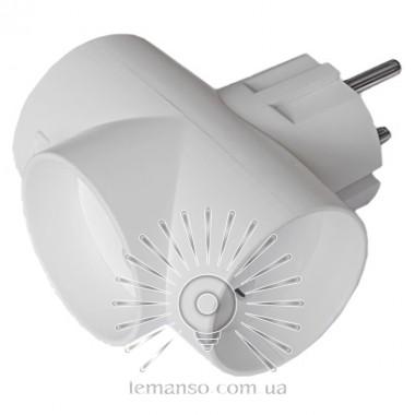 Тройник без заземления Lemanso белый / LMA038 описание, отзывы, характеристики
