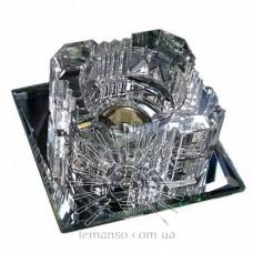 Спот Lemanso ST103 прозрачный-серебро G9 35W + 6LED 4000К с драйвером