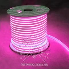 Неон LEMANSO 240град. 120LED 8W/м IP65 розовый 2835SMD 220V 3120LM / LM859