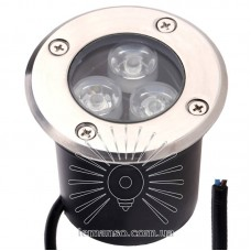 Светильник LED тротуарный Lemanso 3LED RGB 3W 150LM / LM12