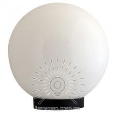 Шар диаметр 150 белый Lemanso PL2102 макс. 25W + база с E27