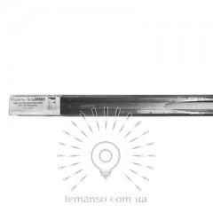 Трек (рельс) 1м 2WAYS Lemanso чёрный для трековых светильников/ LM1114 (LM566)