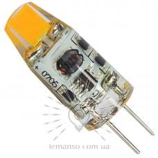 Лампа Lemanso LED G4 COB 1,5W 130-150LM 6500K AC/DC12V / LM766