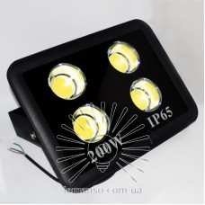 Прожектор LED 200w 6500K 4LED IP65 18000LM LEMANSO чёрный/ LMP14-200