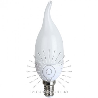 Лампа Lemanso св-ая C37T E14 7,5W 550LM 4500K / LM702 с хвостом описание, отзывы, характеристики