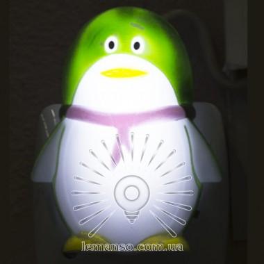 Ночник Lemanso Пингвин зелённый / NL123 описание, отзывы, характеристики