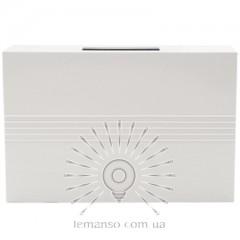Механический звонок динг–донг Lemanso 230V LDB33 белый