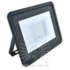 Прожектор LED 30w 6500K IP65 2000LM LEMANSO черный с микров. датчиком