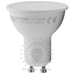 Лампа Lemanso св-ая GU10 7W 560LM 175-265V 4000K / LM3029 матовое стекло